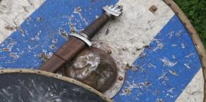 Replica Shield & Sword