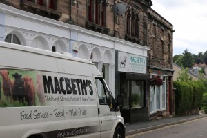 Macbeths Butchers Van