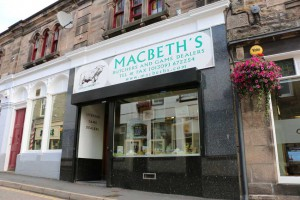 Macbeths Butchers Outside