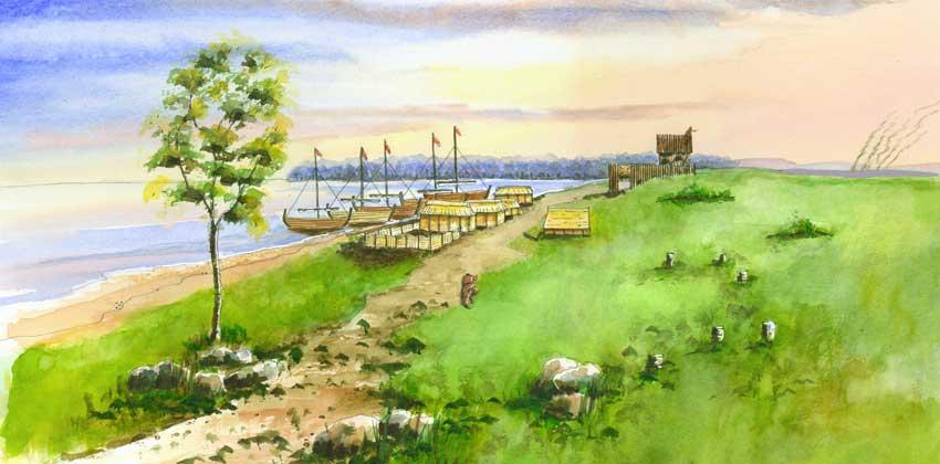 Pitgaveny Port (Artists Impression)